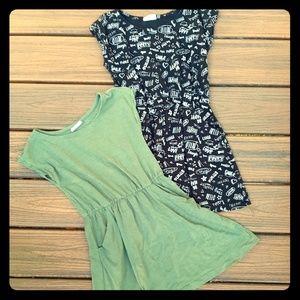 Crazy 8 size 5 / 6 pocket play dress bundle
